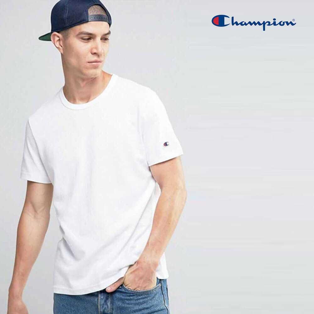 b5cc292e2 Champion T425 Adult Cotton Short Sleeve T-Shirt - BlankTee.HK