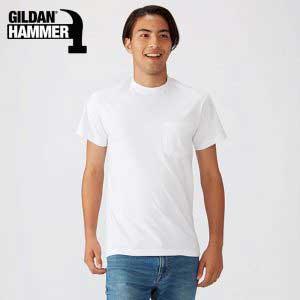 Gildan HA30 6.1oz Hammer 成人有袋 T 恤